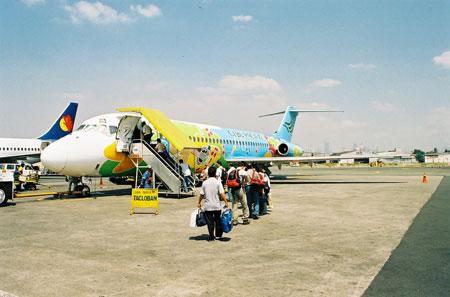 Scalo per Manila