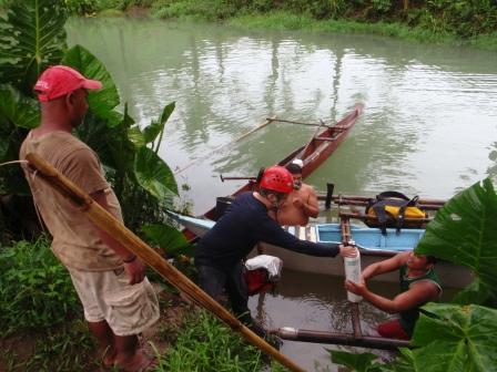 bombole verde acqua e canoe