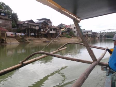 Calbiga vista dal fiume