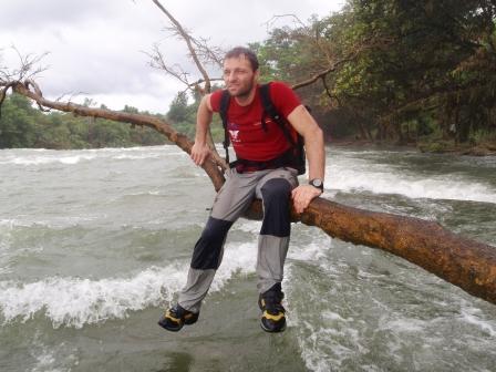Calbiga river in piena, 50 metri cubi al secondo!