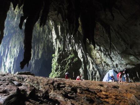 campo a Langun Cave