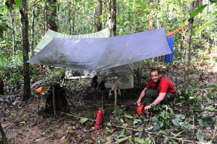 campo in foresta a 4 ore da Canlobo