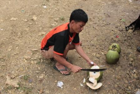 Il rituale del cocco