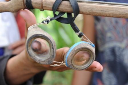 Occhialini per la pesca in osso e vetro!