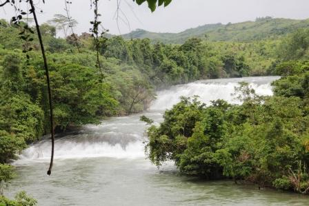 Rapide del Calbiga river