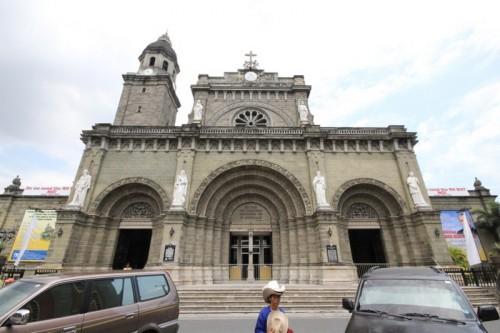 la Cattedrale ad Intramuros