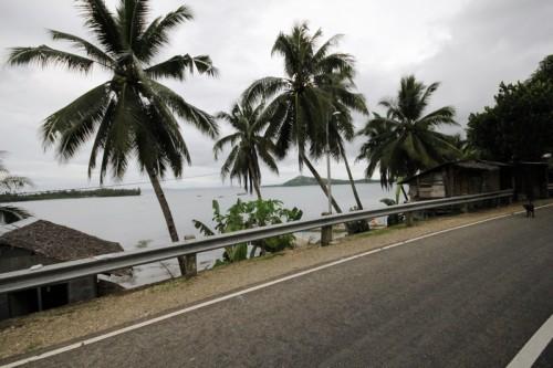 la costa occidentale di Samar dopo Calbayog