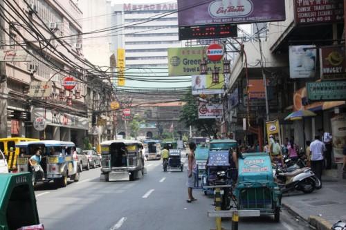 lasciamo l'opprimente Manila