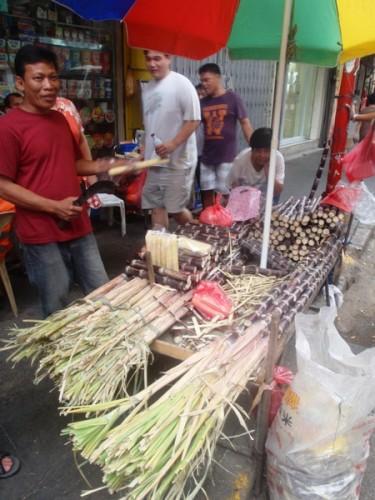 spacciatori di canna da zucchero a China Town