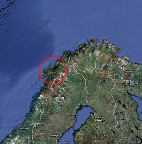 Norvegia 2011, destinazione